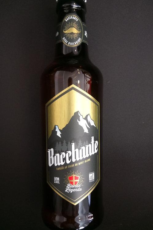 Bière blonde légende bio 33cl - Bacchante
