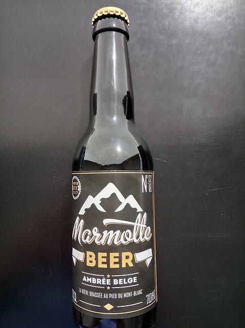 Bière Ambrée Belge 33cl - Marmotte Beer