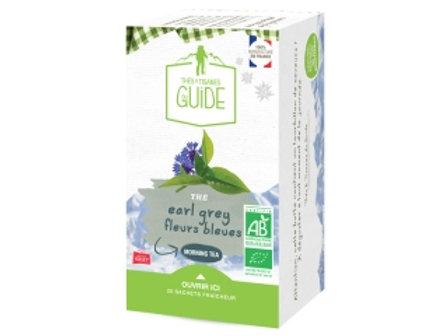 Thé noir Earl grey fleurs bleues bio 38g - Maison Orset