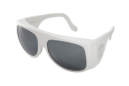 Lunette Amilf blanche silver Milfrance
