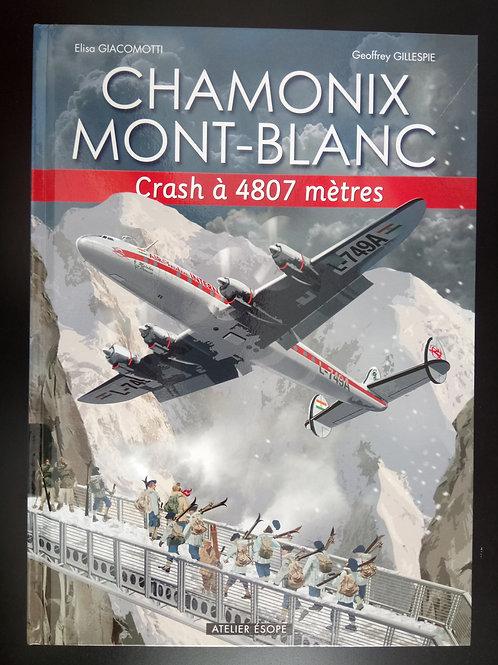 Bande Dessinée Chamonix - Crash à 4807m
