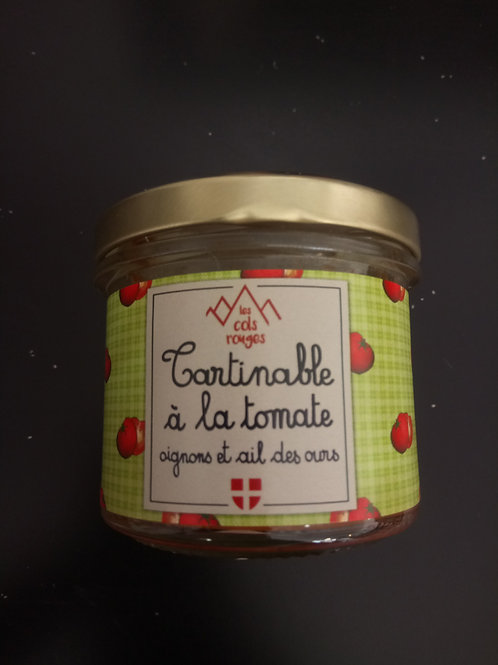 Tartinable tomate & ail des ours 90g -Les Cols Rouges