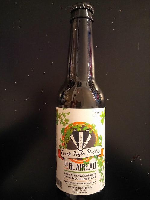 Bière Irish Style Porter 33cl - Le Blaireau