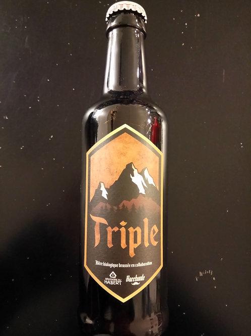 Bière triple bio 33cl - Bacchante