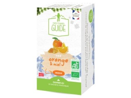 Thé orange miel bio 38g - Maison Orset