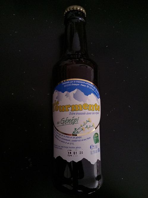 Bière Blonde génépi 33cl - La Tourmente