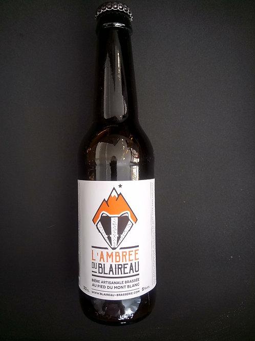 Bière Ambrée 33cl - Le Blaireau