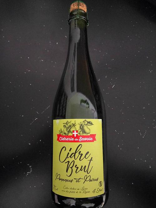Cidre brut 3.5% 75cl - Cidrerie de Savoie