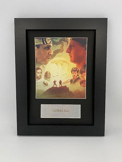 Cobra Kai Framed A4 Print