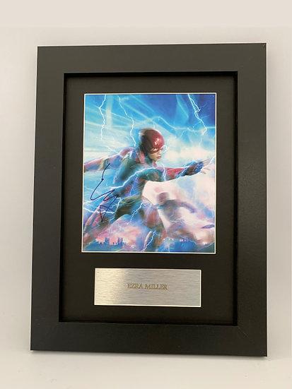 Ezra Miller - Signed Replica A4 Print