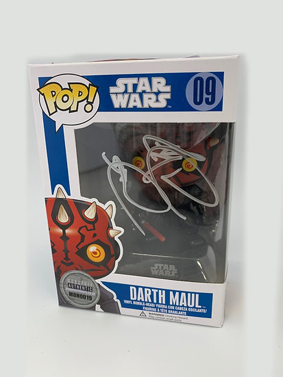 Darth Maul - Ray Park signed Pop! figure
