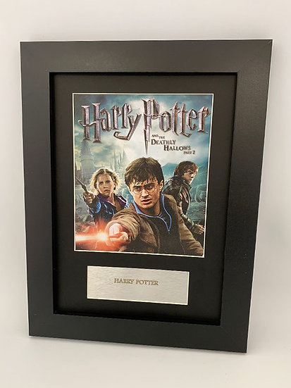 Harry Potter Framed A4 Print