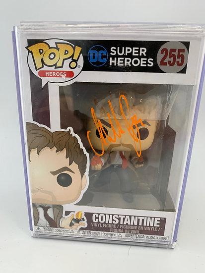 Constantine - Matt Ryan signed Pop! figure