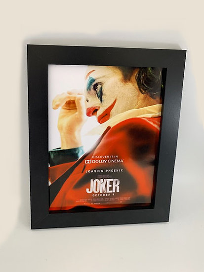 The Joker Framed A4 Poster