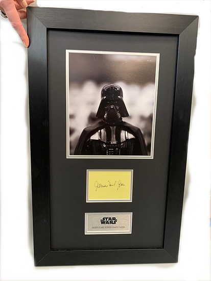 Star Wars - Darth Vader - James Earl Jones Original Signature