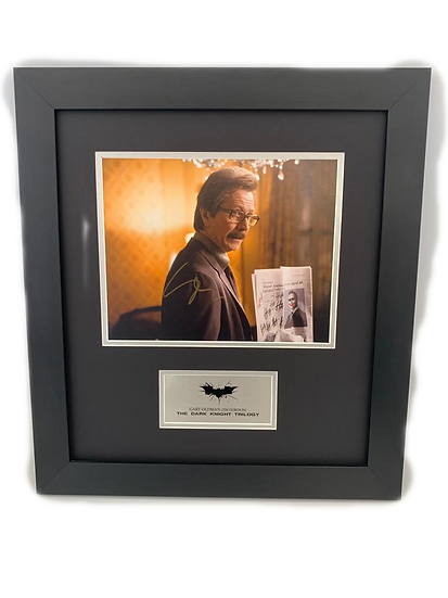 Batman - Dark Knight Trilogy - Gary Oldman Original Signature