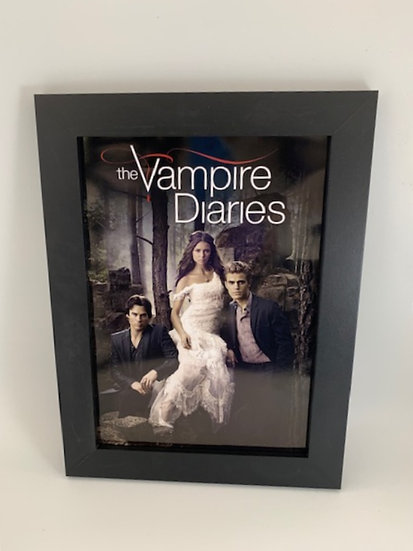The Vampire Diaries Framed A4 Poster