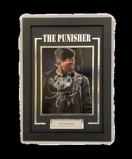 The Punisher - Jon Bernthal Original Signature