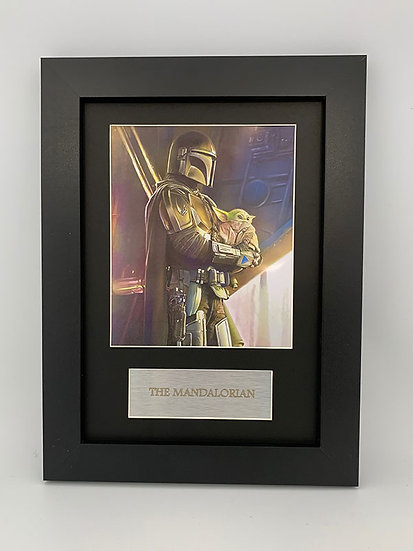 The Mandalorian Framed A4 Print