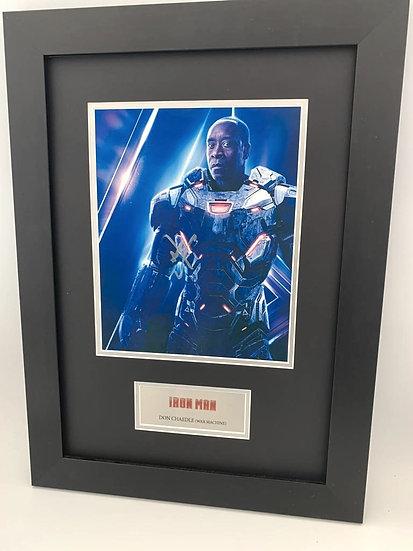 Iron Man's War Machine - Don Chaedle Original Signature