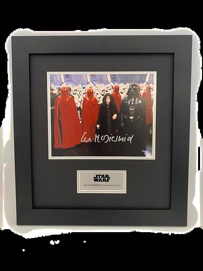 Star Wars - Emperor Palpatine - Ian McDiarmid Original Signature