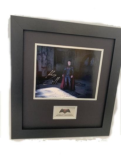 Batman Vs Superman - Henry Cavill Original Signature