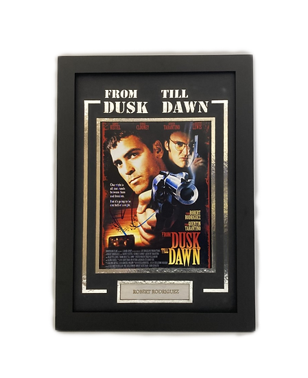 From Dust Till Dawn - Director Robert Rodriguez Original Signature