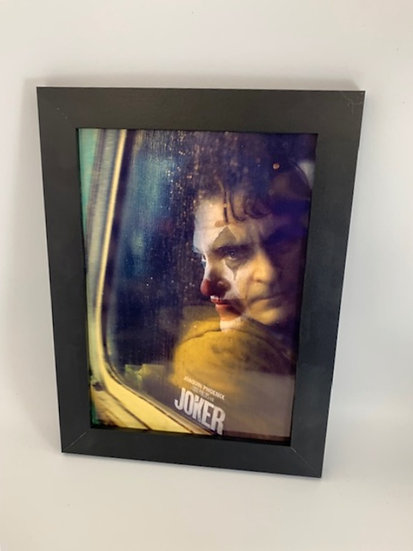 Joker Framed A4 Poster