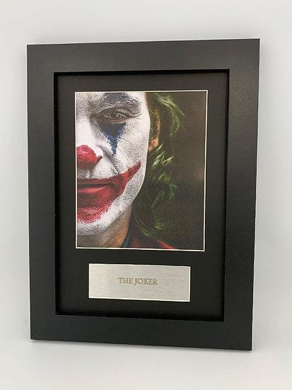 The Joker Framed A4 Print