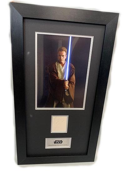Star Wars Obi-Wan Kenobi - Ewan McGregor Original Signature