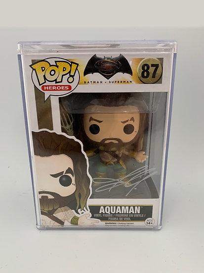 Aquaman - Jason Momoa Signed Pop Figure