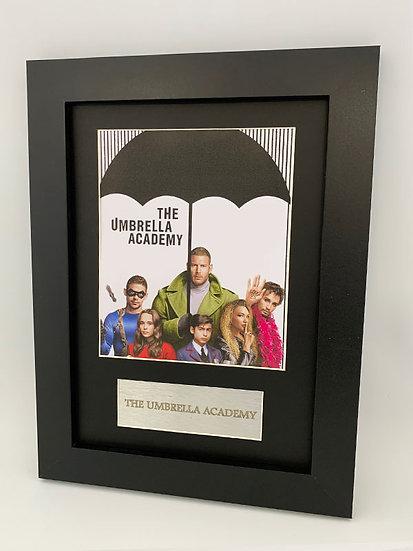 The Umbrella Academy Framed A4 Print
