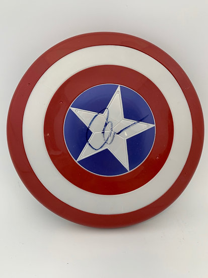 Captain America - Chris Evans Signed Mini Shield