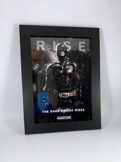 Batman - Dark Knight Rises Framed A4 Poster