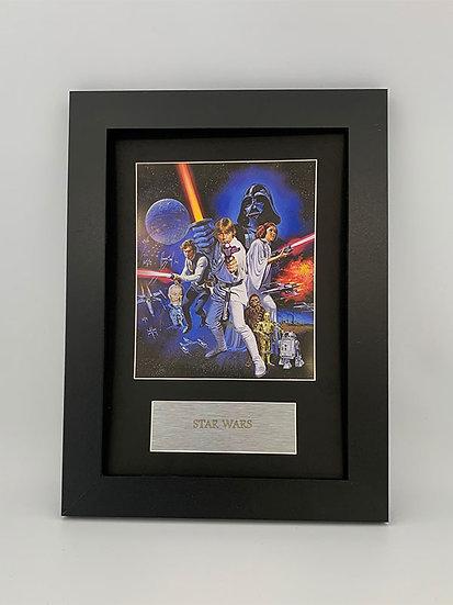 Star Wars Framed A4 Print