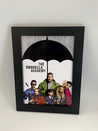 The Umbrella Academy Framed A4 Poster