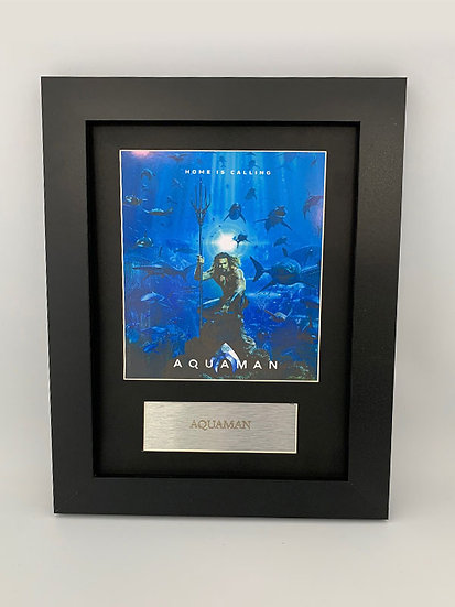 Aquaman Framed A4 Print