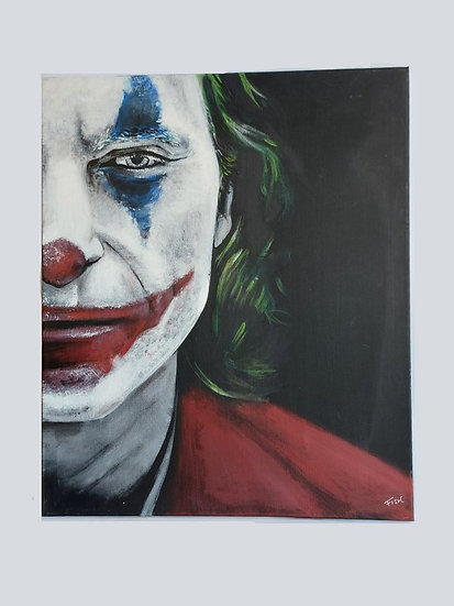 The Joker Art Canvas