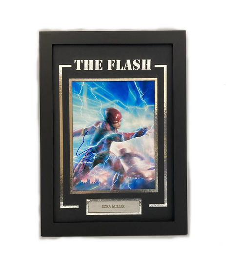 The Flash - Ezra Miller Original Signature