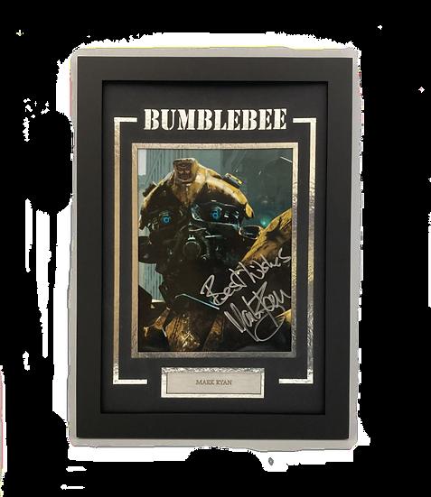 Transformer Bumblebee - Mark Ryan Original Signature