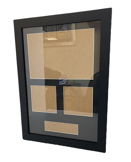 Blank Mount with Frame - Portrait
