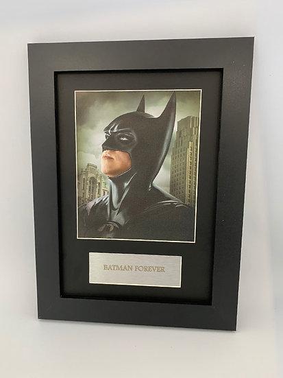 Batman Forever Framed A4 Print
