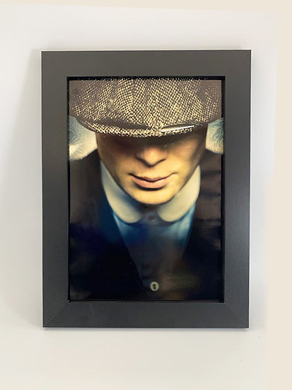 Peaky Blinders Tommy Shelby Framed A4 Poster