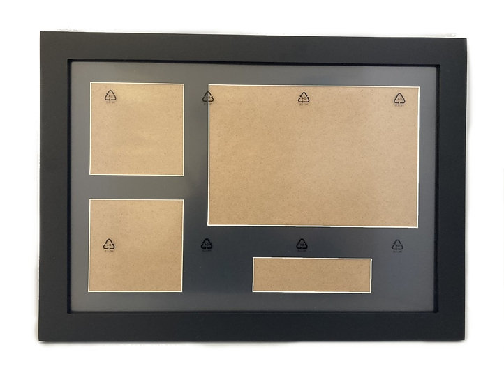 Blank Mount with Frame - Landscape Right Alignment