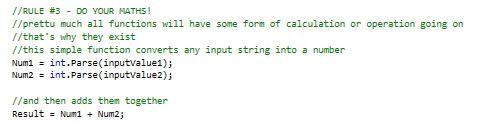Rule #3 Do The Maths