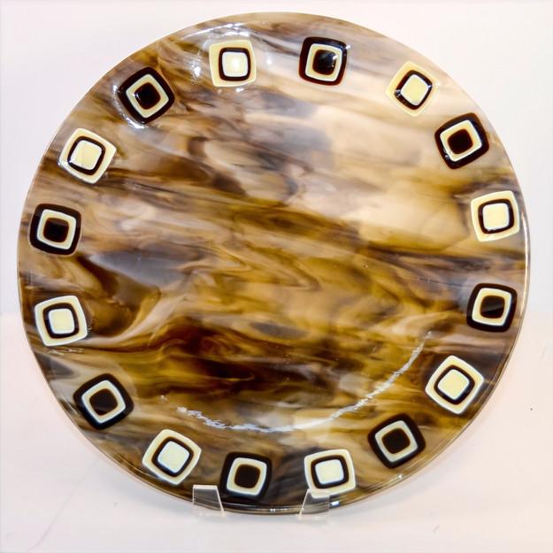 Round Woodland Plate