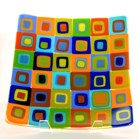 Retro Bold Squares