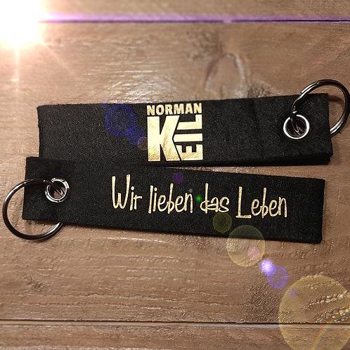 """Schlüsselanhänger """"Wir lieben das Leben"""""""