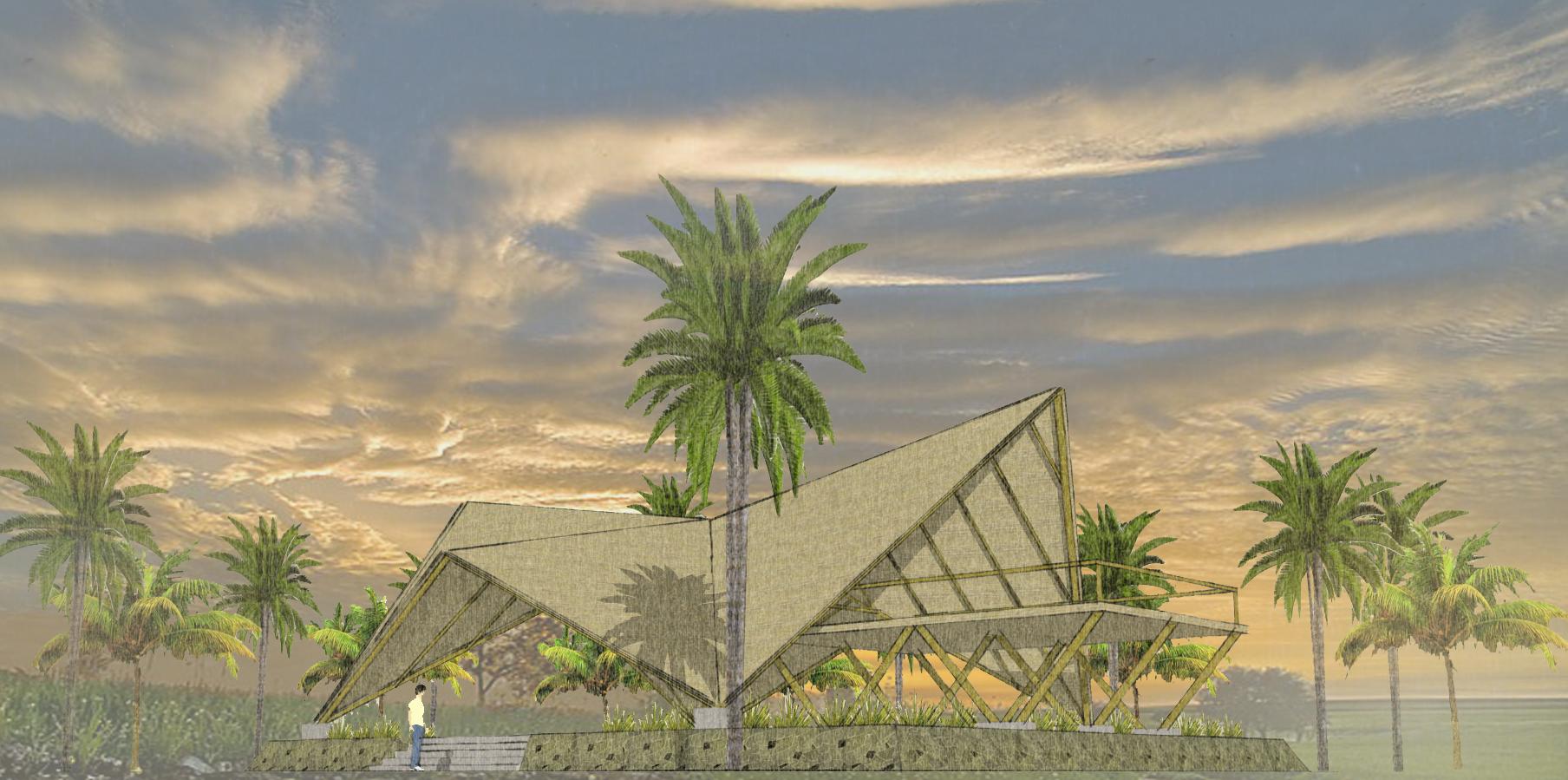 PALAPA / MEGA arquitectura