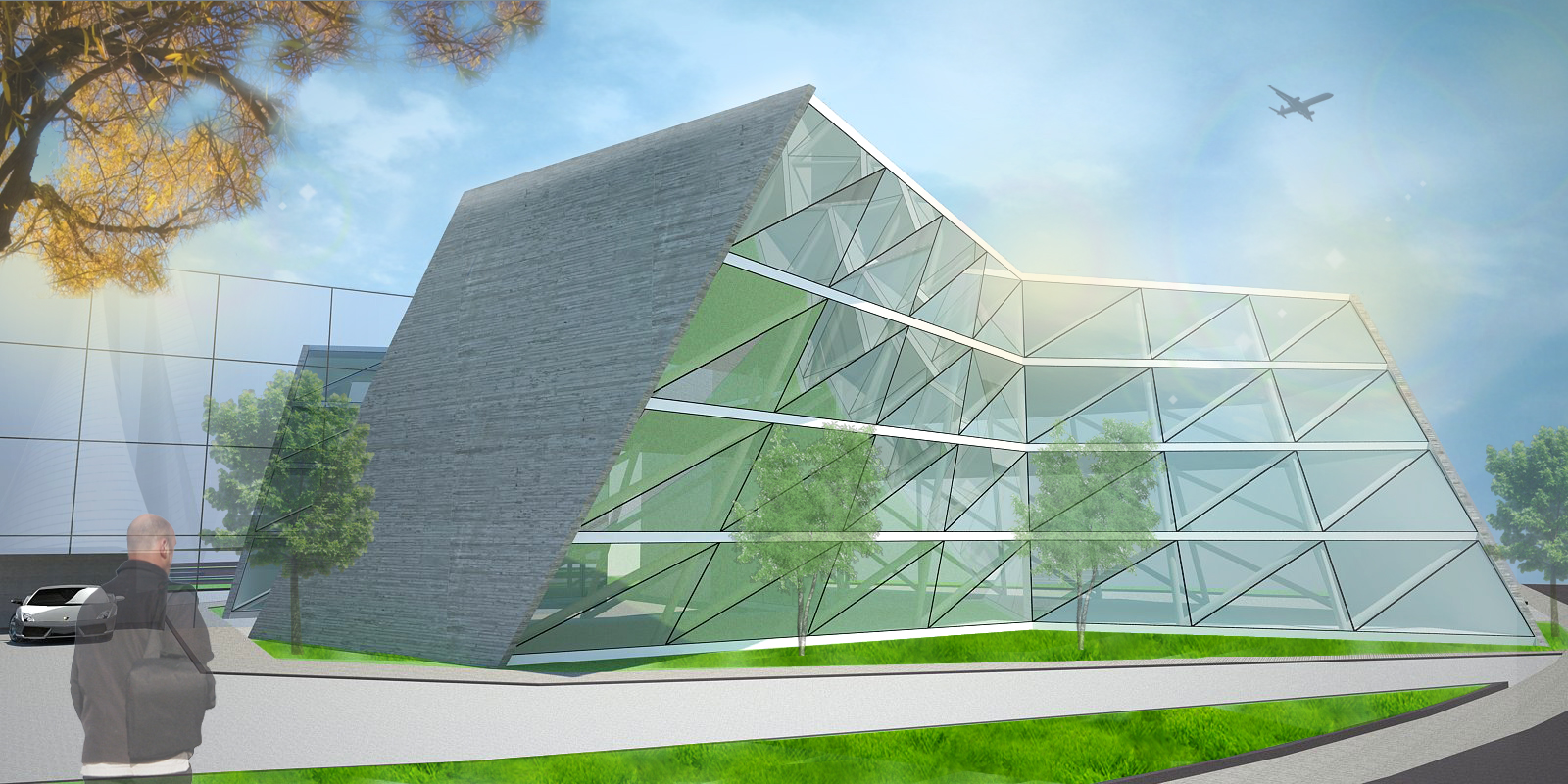 S.S.C. building